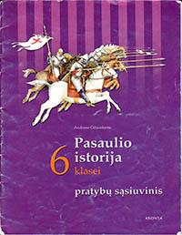 6 klasė: Pasaulio istorija